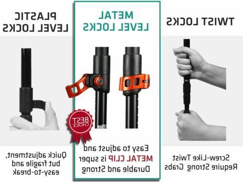 TREK-Y: Adjustable Poles 2pc/Set