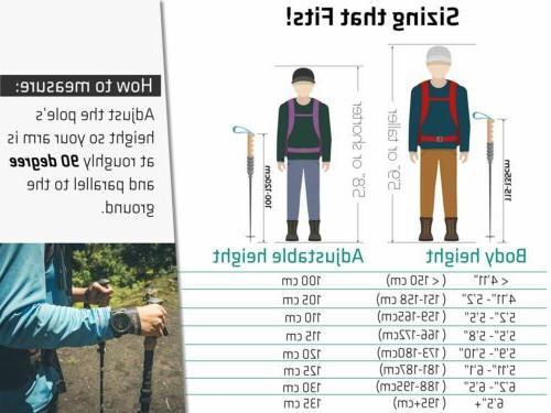 TREK-Z 2.0 - Trekking Walking Poles