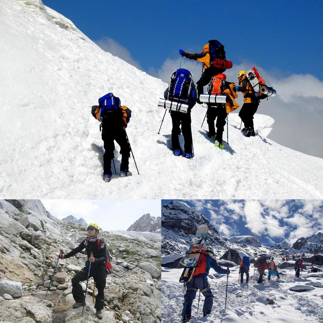 Pair Sticks Trekking Poles for Walking Men Camping