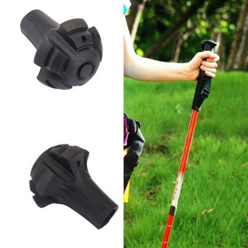 trekking pole tips rubber feet for hiking