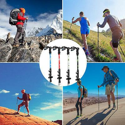 Trekking Pole Collapsible Retractable Hiking