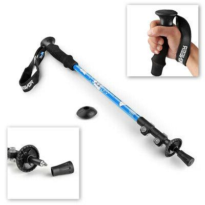 trekking pole walking stick collapsible retractable hiking