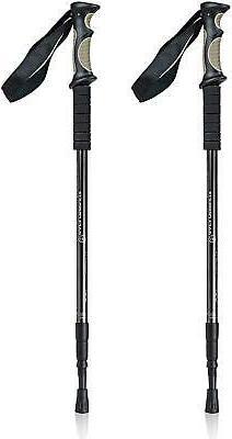 trekking poles lightweight adjustable folding hiking sticks