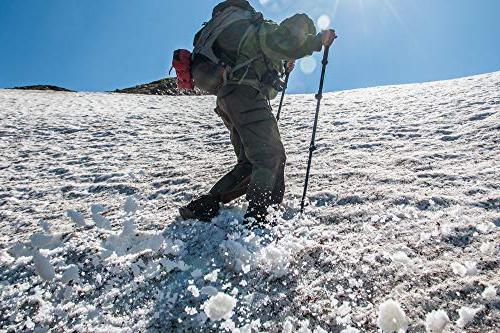 TREKONE Trekking Poles - Adjustable Telescopic Hiking Walking with Release Lever Lock Ergonomic