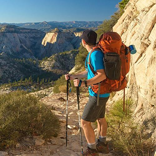Paria Outdoor Products Alloy UL - Folding, Adjustable, and Ultralight - Perfect for Hiking, and