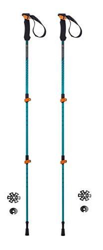 Ferrino Ultar Trekking Poles, Blue, 60-135