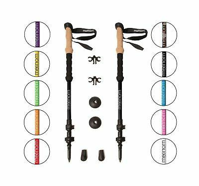 ultra strong trekking poles black