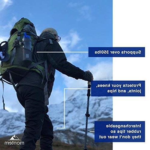 Montem Ultra Strong Hiking/Walking/Trekking Poles Pair