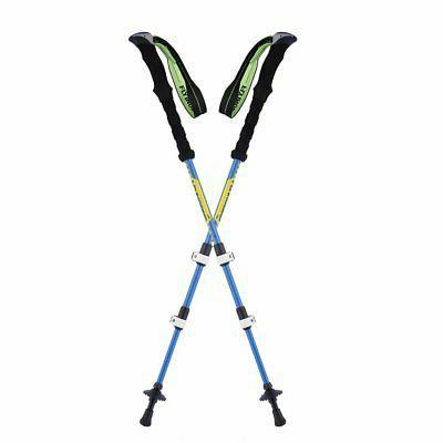 Ultralight Carbon Fiber External Lock Trekking Pole/Walking