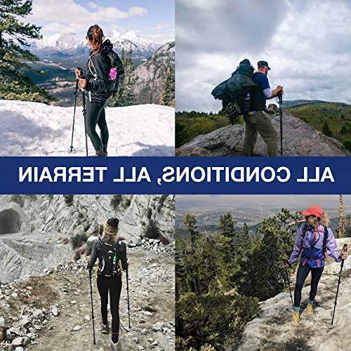 Montem Ultralight Hiking/Walking Trekking Poles - One