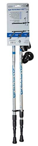Brazos Trekking Poles: with Integrated Technology - Height Poles Men and Blue