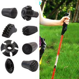 Mini Trekking Pole Tip Protector Anti-skid Rubber Walking St