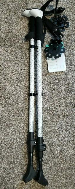 """New Vive Trekking Poles Adjustable Height 27"""" - 57"""""""