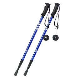 ALPS Pair 2 Trekking Poles Walking Hiking Sticks 3-Section A