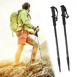Pair 2 Trekking Walking Poles Hiking Sticks Trekking Trail A
