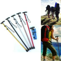 Portable Trekking Poles Carbon Fiber Telescopic Folding Cane