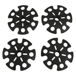 MagiDeal 4pcs Replacement Rubber Snowflake Snow Basket for H