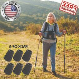 Replacement Rubber Tips For Hiking Poles Walking Trekking Tr