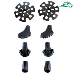 Replacement Rubber Tips Set for <font><b>Trekking</b></font>