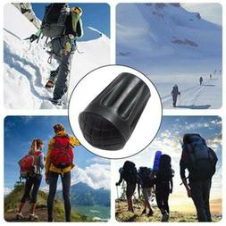 Rubber Hiking Trekking Pole Tips Caps Walking Stick Cane Sle