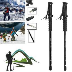 Anti-shock Walking Hiking Stick 3 Section Adjustable Retract