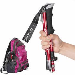 Sports Carbon Fibre Anti Shock Walking Trekking Hiking Stick