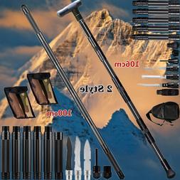 Tactical Survival Walking Trekking Poles Multifunction Alpen