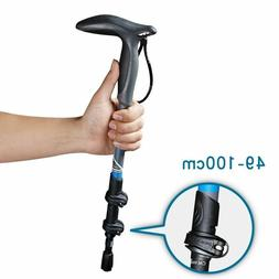 Telescopic Trekking Sticks Walking Cane Crutch Bar Ultraligh