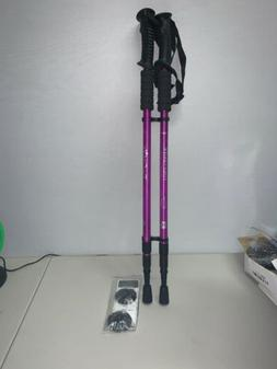 The Fit Life Walking/trekking Retractable Anti Shock Pole St