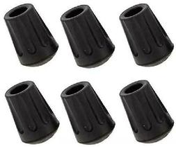 TrailBuddy 6-Piece Pack Rubber Tips for Trekking Poles -  Po