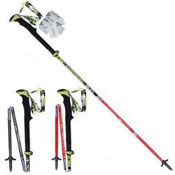 Trekking Pole Carbon Fiber Hiking Pole Walking Stick Lightwe