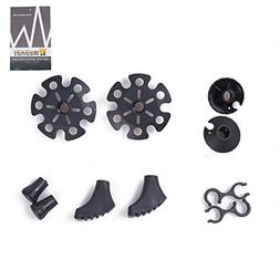 Weanas Trekking Pole Replacement Accessories Sets for Climbi