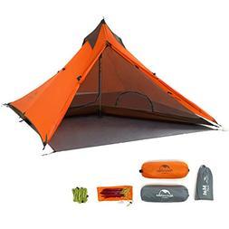Naturehike Trekking Pole Tent Ultralight 1 Person 3 Season T