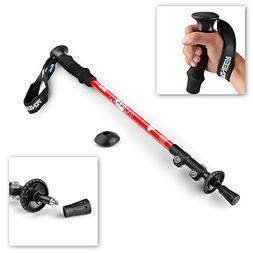 Flexzion Trekking Pole Walking Stick  - Collapsible Retracta