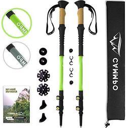 CAMMPO Trekking Poles - Ultra Strong & Lightweight Aluminum