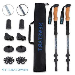 Trekking Poles, Ultra Strong Hiking/Walking Poles with Light
