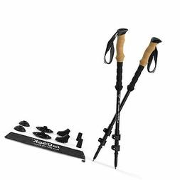 ieGeek Trekking Poles - Collapsible Hiking Walking Sticks fo