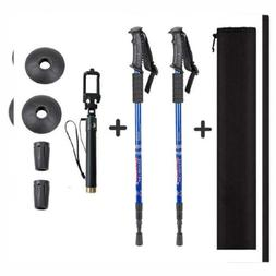 Aihoye Trekking Poles, Collapsible Lightweight Shock-Absorbe