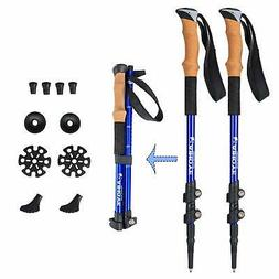 Aihoye Trekking Poles- Collapsible, Shock Absorbing, Retract
