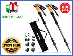Trekking Poles Durable Carbon Fiber Hiking Pole W Natural Co