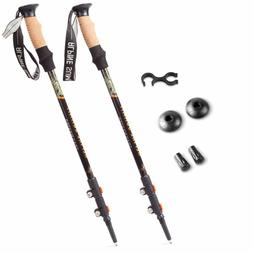 Alpine Summit Trekking Poles  Collapsible Hiking / Walking S