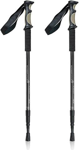 trekking walking hiking poles adjustable for all
