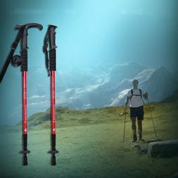 Trekking Walking Hiking Sticks Anti-shock Adjustable Alpenst