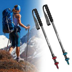 Trekking Walking Hiking Sticks Poles Carbon Fiber Ultralight