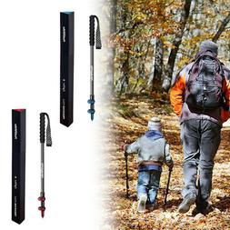 Ultralight Trekking Hiking Poles Walking Stick Anti Shock Ca