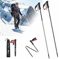 Naturehike Ultralight Trekking Poles Walking Sticks 4 Sectio